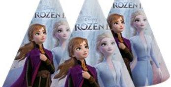 Disney Frozen 2 Paper Party Hats (6pk)