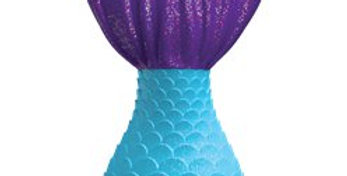 Mermaid Wishes Tail Birthday Candle - 11cm