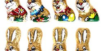 Bag of 8 Chocolate Bunnies - 100g (100g)