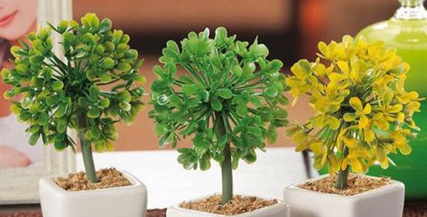 bonsai Artificial h13cm in ceramic pot