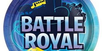Battle Royal Paper Plates - 23cm (8pk)