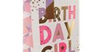 Birthday Girl Medium Gift Bag - 25cm (each)