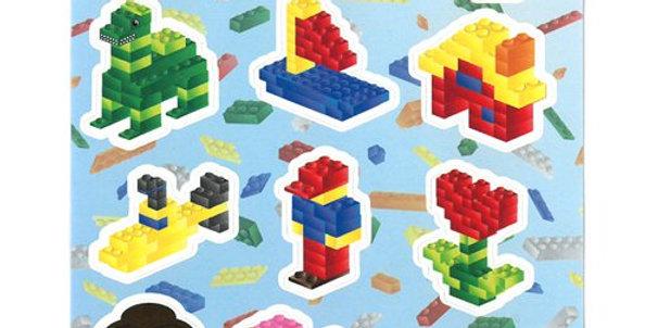 Block Brickz Stickers