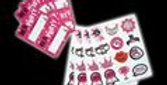 Hen Night Sticker And Name Tag Pack