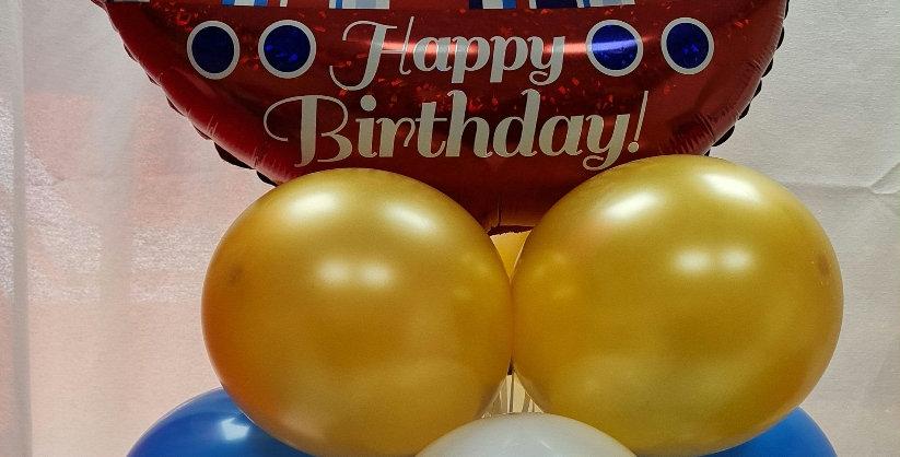 11 Tier supershape Balloon decoration