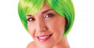 Flirty Flick Wig Neon Green