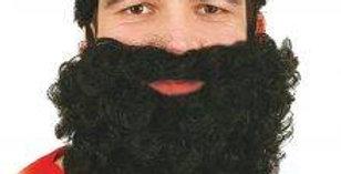Black Nylon Beard
