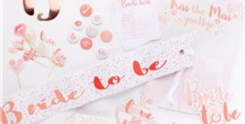 Bride To Be Hen Party Kit (each)