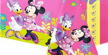 Minnie Mouse Plastic Tablecover - 1.2m x 1.8m (each)