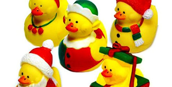 Small Christmas Duck each