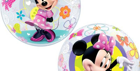"Minnie Mouse Bow-Tique Bubble Balloon - 22"" (each)"