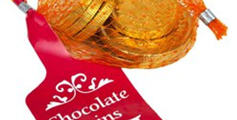 Net of Milk Chocolate Gold Coins - 25g (each)
