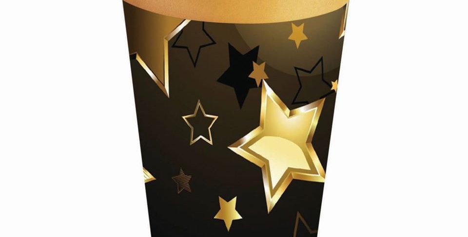 Birthday Milestone Paper Cups 8pk