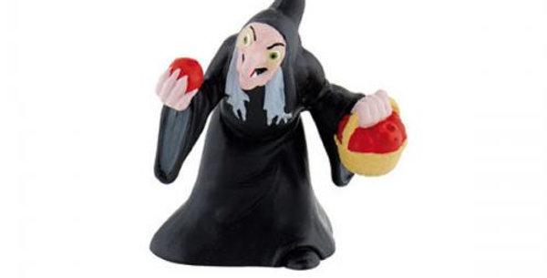 Cake topper witch Snow w