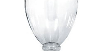 Clear Plastic Apothecary Jar - 2.4L (each)