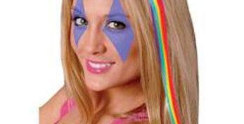 Hair Extension - Rainbow (each