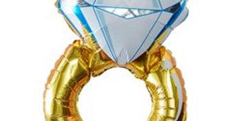 I Do Crew - Foil Ring Balloon (each)