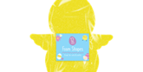 Easter Chick Foam Shapes - 12 Pack