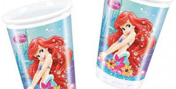 Ariel plastic cups 8pk