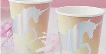 Unicorn Wishes Iridescent Unicorn Tassel Cups