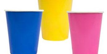Birthday Brights paper Cups - 250ml (12pk)