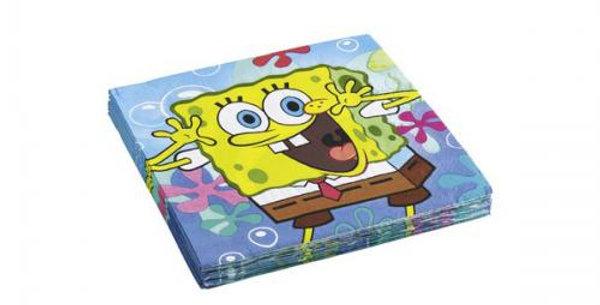 Spongebob 33 x 33 cm  napkins