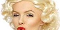 50's Marilyn Monroe Wig - Blonde (each)