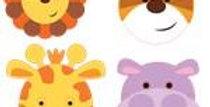 Animal Friends Face Packs (8pk)