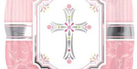 Blessings Pink - 18'' Foil Balloon