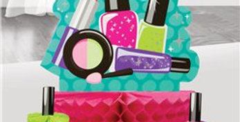 Sparkle Spa Party Honeycomb Centrepiece Set (3pk)