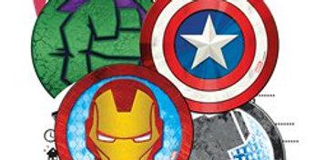 Mighty Avengers Party Invitations (6pk)