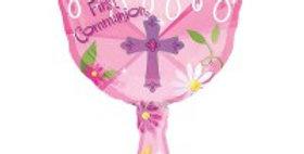1st Communion pink Chalice Shape - 50cm X 78cm