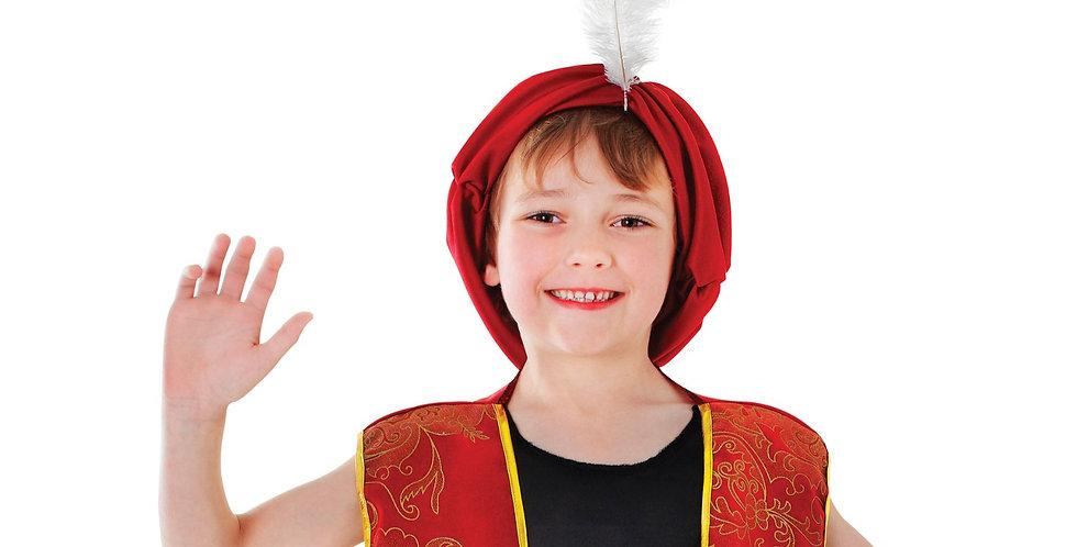 Arabian Boy includes shirt, waistcoat, Trousers, hat and Belt  7-9,10-12,12