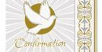 Silver & Gold Radiant Cross Confirmation Napkins - 33cm 16pk