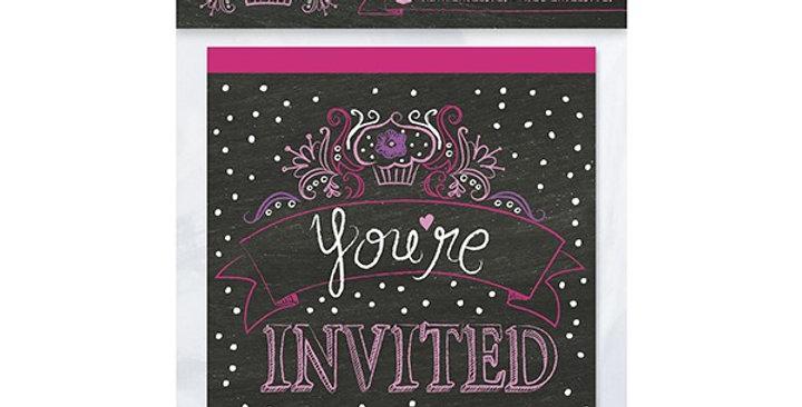 Zebra Passion Invitations 8CT.