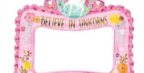unicorn inflatable photo frame  airfilled Foil