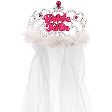 'Bride to Be' Tiara with Veil