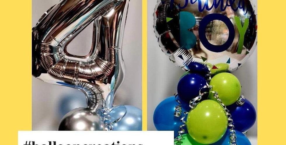 Balloon centrepiece app.size 60cm