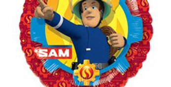 Fireman Sam Foil Balloon - 18'' (each)