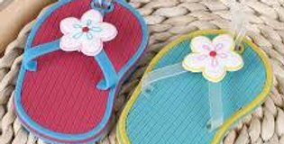 Wholesale Flip Flop Luggage Tags