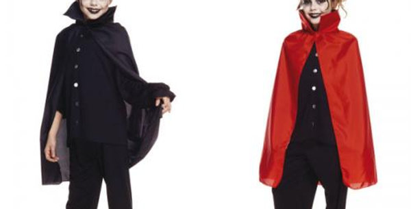 70cm red or  black cape