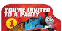 Thomas the Tank Engine Postcard Invitations (8pk)