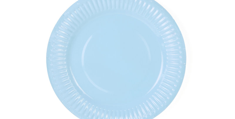 Paper Plates Aloha, turquoise, diameter approx. 18cm Paper Plates