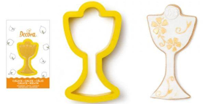 Plastic chalice cookie cutter