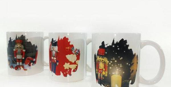 Christmas Nutcracker design mug 32cl