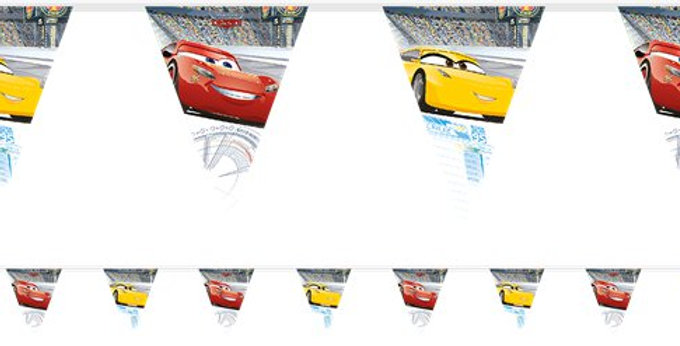 Disney Cars 3 - Bunting (each)