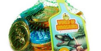 Dinosaur Chocolate Coin Net (each)