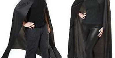 Black Deluxe Vampire Cloak Long Cape