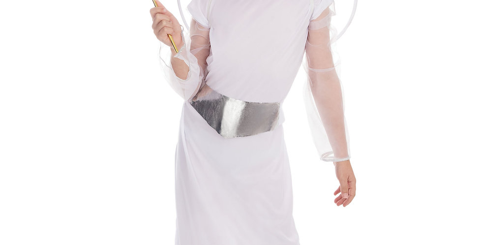 Angel includes Dress, Halo and belt ages 3-6,7-9,10-12.