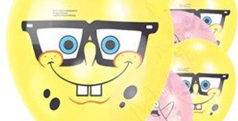 "SpongeBob Squarepants Balloons - 11"" Latex (6pk)"